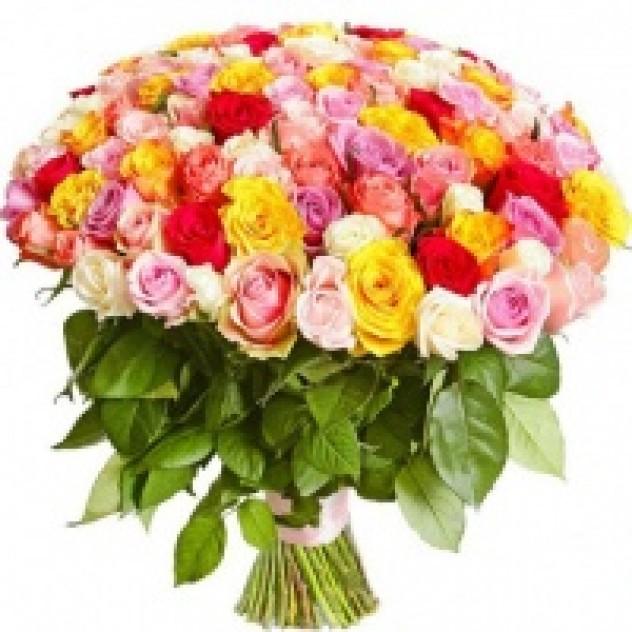 """Букет из 101 розы """"Романтика"""""""